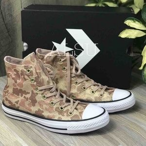 NWT Converse High Top particle beige W AUTHENTIC